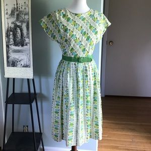 True Vintage: 1950s handmade dress